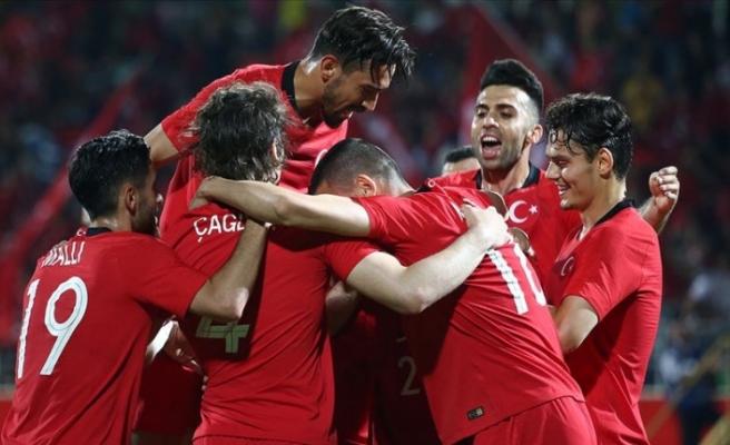 Türkiye, özel maçta galip