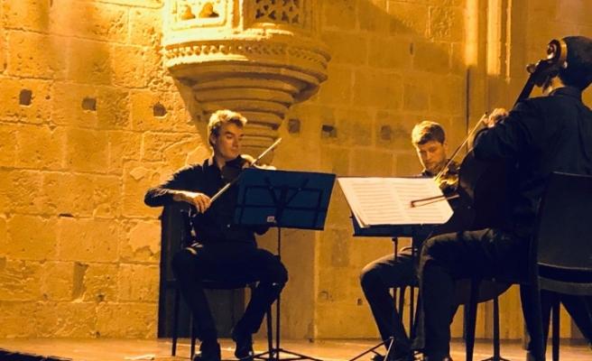 Viyana Senfoni Yaylı Çalgılar Beşlisi sahne aldı