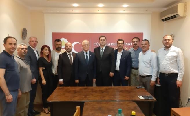 Zorlu Töre'den Makedonya'da temaslar