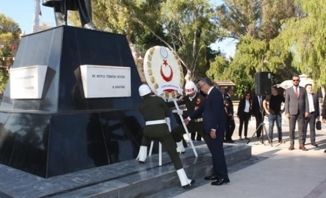 20 Temmuz Barış ve Özgürlük Bayramı Atatürk Anıtı'nda tören yapıldı