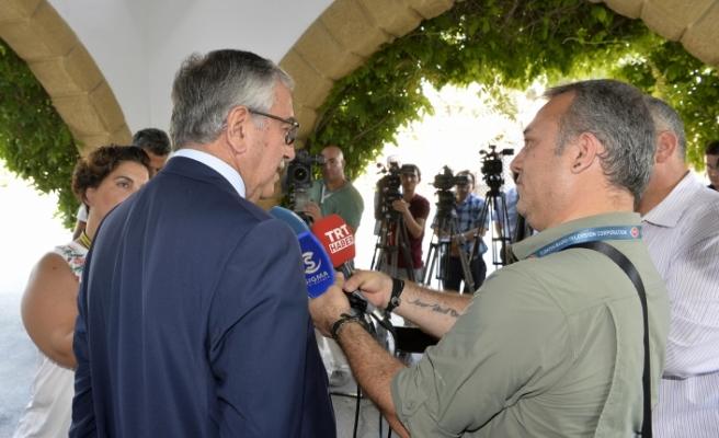 """Akıncı: """"Kıbrıs Rum Yönetimi müsamahakar olmamalı"""""""