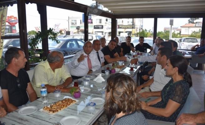 Alsancak'ta Girne Batı Çevre Yolu konusunda toplantı