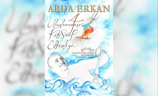 Arda Erkan anısına  kite surf etkinliği