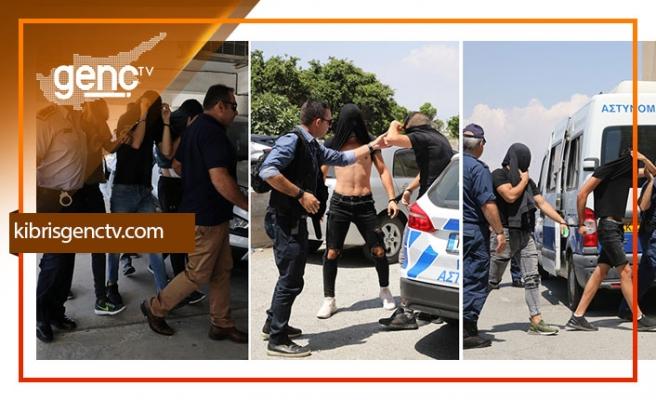 Ayia Napa'daki tecavüz olayında gelişme...Tecavüze uğrayan tutuklandı