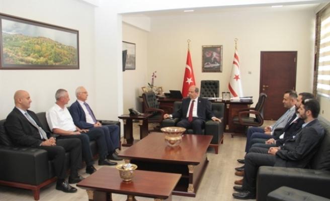 """Başbakan Tatar: """"Kıbrıs Türk halkı,Türk Kızılay'ının değerini iyi biliyor"""