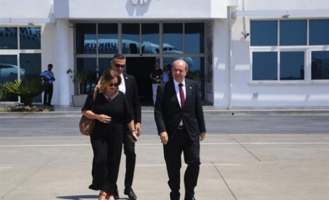 """Başbakan  Tatar """"Kuzey Kıbrıs Tanıtım Etkinlikleri"""" için İstanbul'a gitti"""