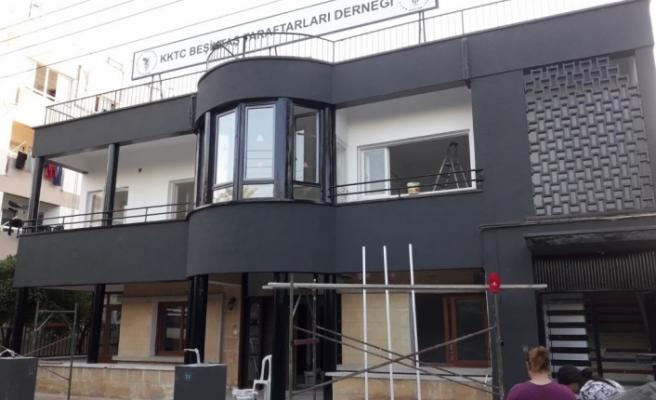 Beşiktaş Taraftarları Derneği, yeni lokali hizmete giriyor