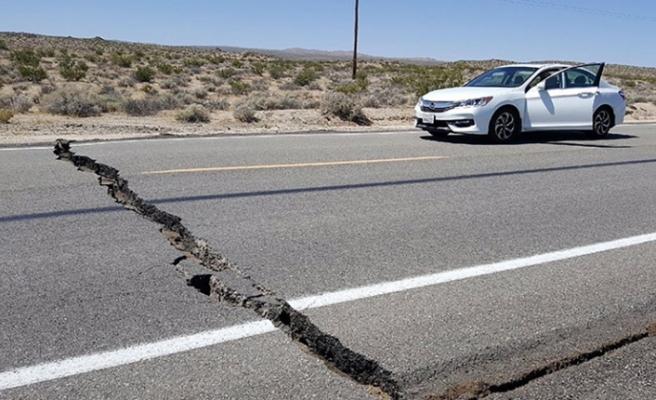 California depreminin ardından 1400'den fazla artçı sarsıntı