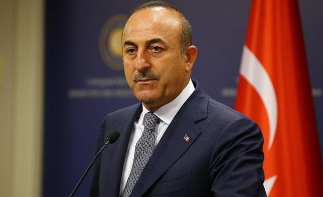 """Çavuşoğlu: """"AB'nin bölge dayanışması ile yanlışa girmemesi gerekiyor"""""""
