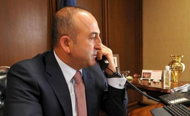 Çavuşoğlu'ndan Doğu Akdeniz için telefon diplomasisi