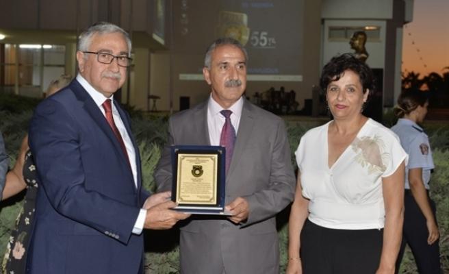 Cumhurbaşkanı Akıncı, PGM'de düzenlenen resepsiyona katıldı