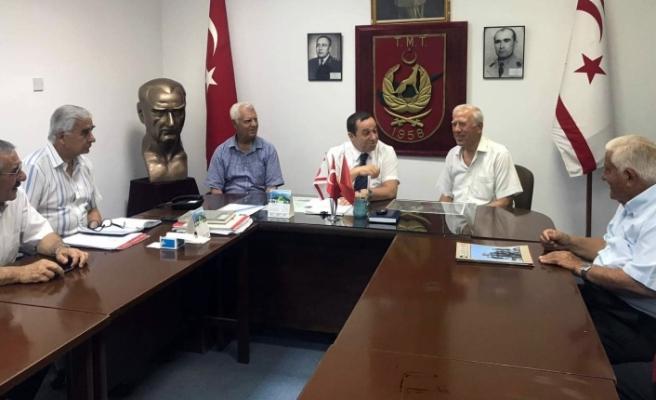 """Denktaş: """"Doğal kaynaklarda Kıbrıslı Türklerin de hakları var"""""""
