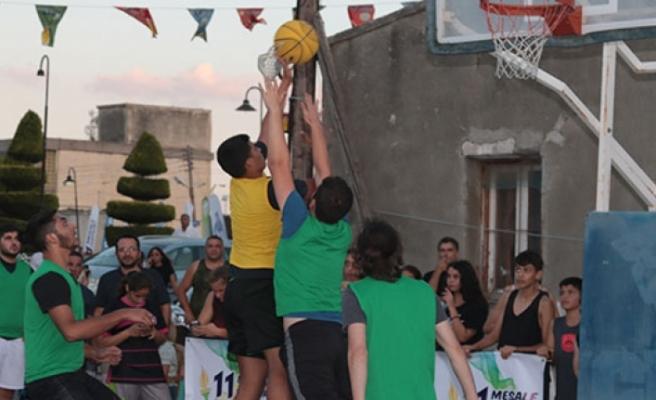 Dikmen'de sokak Basketbol ile şenlendi