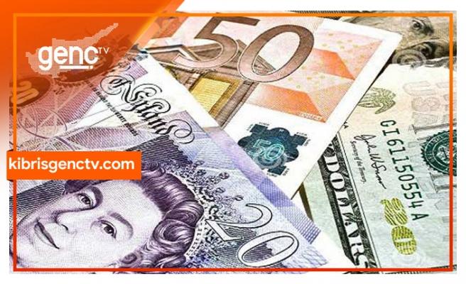 Dolar, Sterlin ve Euro'da son rakamlar