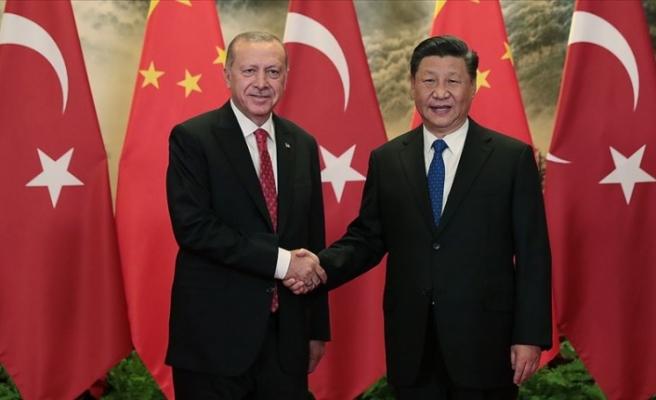 Erdoğan, Çin'de
