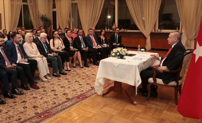 """Erdoğan'dan sert mesaj: """"Onların anlayacağı dil neyse o dille de konuşmasını biliriz"""""""