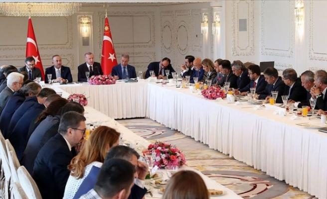 """Erdoğan: """"Kıbrıs Türklerinin haklarını yok sayan anlayışa karşı somut adım atıyoruz"""""""