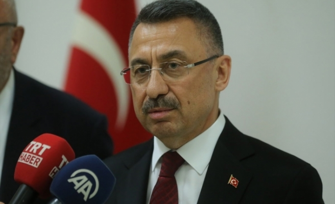 Fuat Oktay, Ercan'da incelemelerde bulundu ve KKTC'den ayrıldı