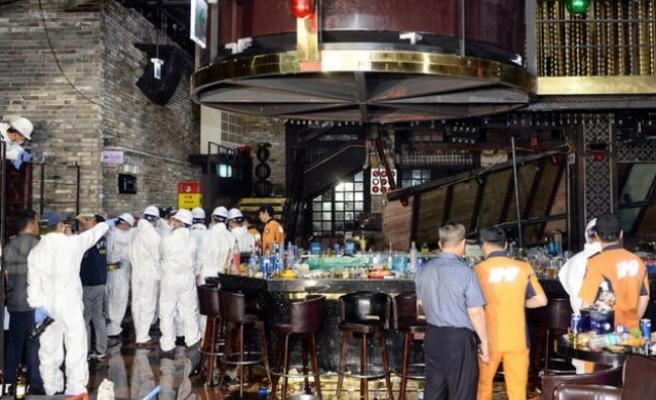 Güney Kore'de gece kulübünde balkon çöktü: 2 ölü