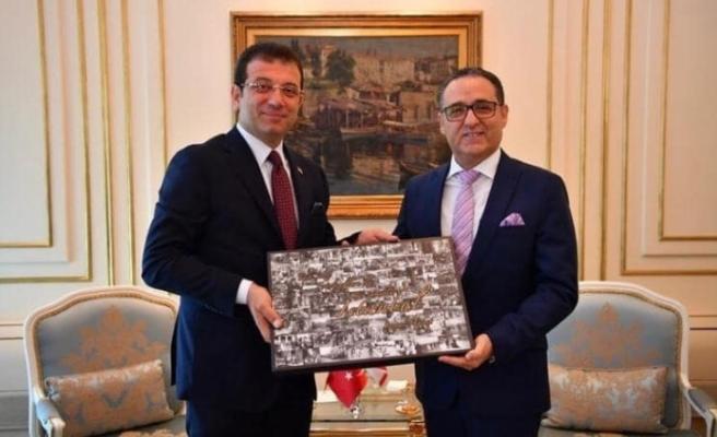 İstanbul Başkonsolosundan İmamoğlu'na ziyaret