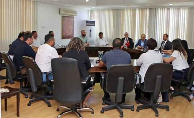Kapalı Maraş Envanter Komisyonu toplandı