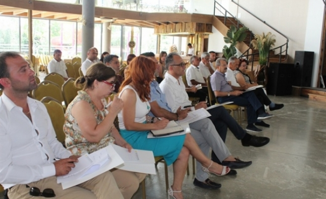 Kıbrıs Türk Belediyeler Birliği Birlik Meclisi için bilgilendirme toplantısı düzenlendi