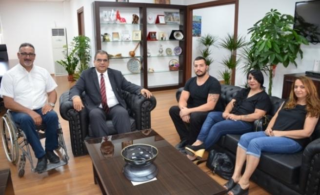 Kıbrıs Türk Ortopedik Özürlüler Derneği, Çalışma Bakanlığı'nda