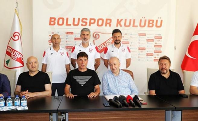 Kıbrıslı Türk Teknik Adam  Mustafa Piro, Boluspor ekibinde