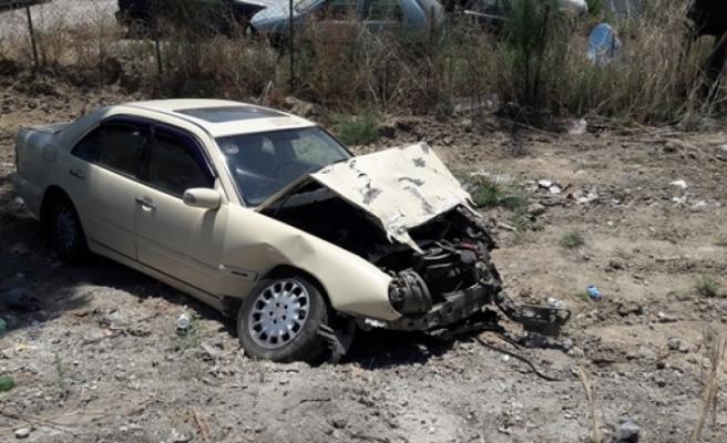 Lefkoşa- Gazimağusa anayolunda kaza