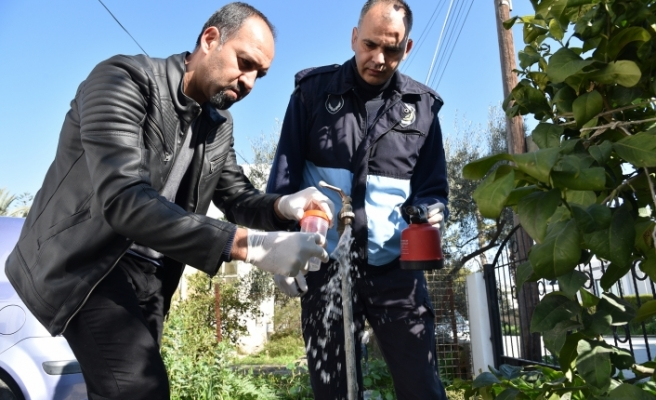 Lefkoşa'da işyerleri denetlendi, şebeke suyu analizleri yapıldı