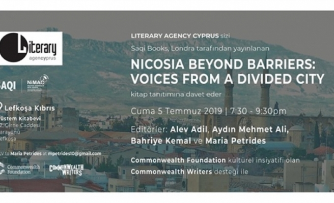 """Nicosia Beyond Barriers: Voices from a Divided City"" kitap tanıtımı"