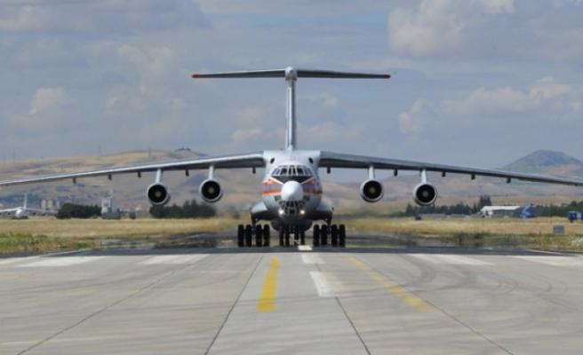 S-400 intikali devam ediyor: Yeni parçalar Ankara'ya geldi