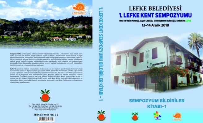 """""""Sempozyum Bildiriler Kitabı-I"""" yayımlandı"""