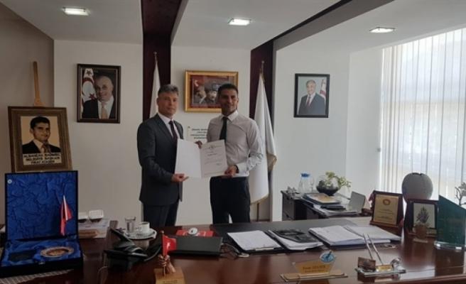 Sivil Savunma Heyeti, Alsancak Belediye Başkanı Ataser'i ziyaret etti