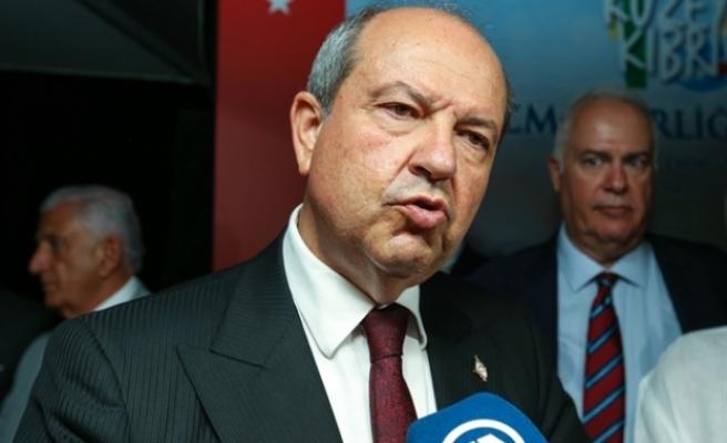 """Tatar: """"Savunduğumuz model, KKTC'nin yaşaması ve Türkiye'nin Kıbrıs'taki garantörlüğünün devamı"""""""