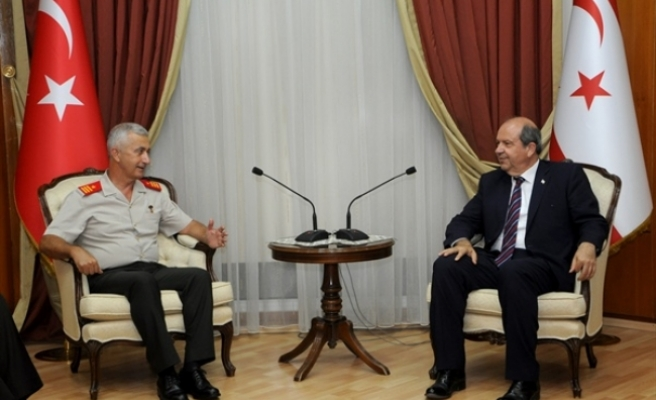 """Tatar: """"Yunan Başbakan Kıbrıs'ın gerçeklerini göremiyor"""""""