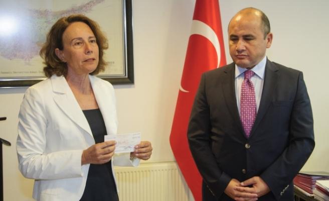 Türkiye'den Kayıp Şahıslar Komitesine bağış