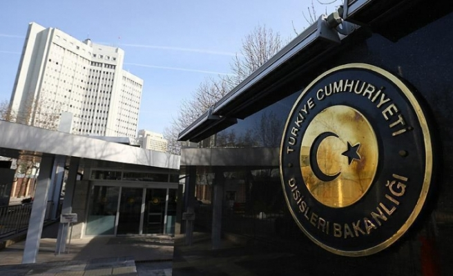 Türkiye Dışişleri Bakanlığı'ndan Akıncı'nın önerisine destek