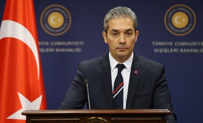"""Türkiye Dışişleri'nden """"füze"""" açıklaması"""
