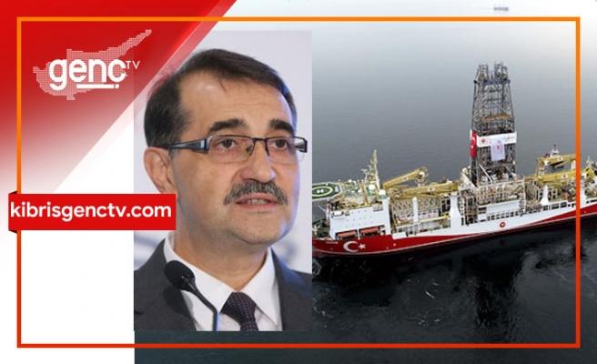 """Türkiye Enerji Bakanı açıkladı: """"Yavuz, 1 hafta içerisinde Karpaz'da sondaja başlamış olacak"""""""