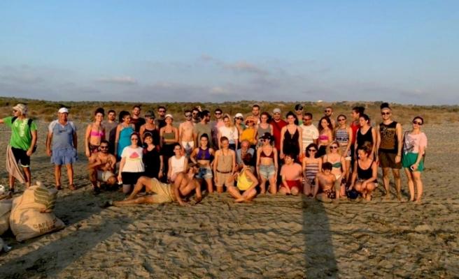 Adres bu kez Akdeniz sahili...Take Action Cyprus'tan başarılı bir organizasyon daha