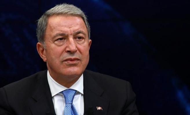 """Akar'ın 30 Ağustos mesajında """"Kıbrıs"""" vurgusu"""