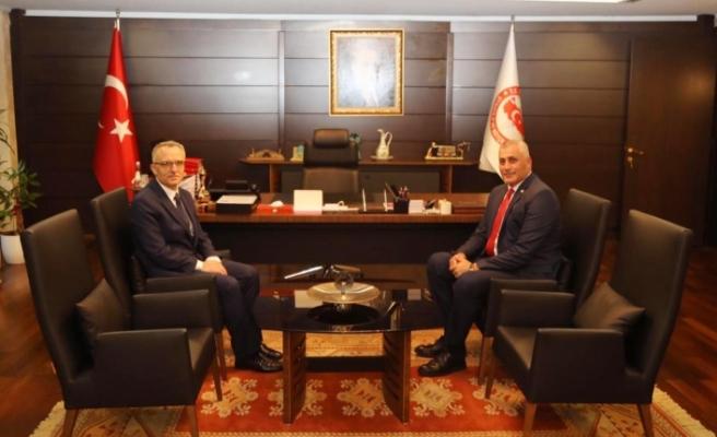 Bakan Amcaoğlu'ndan Ankara'da temaslar