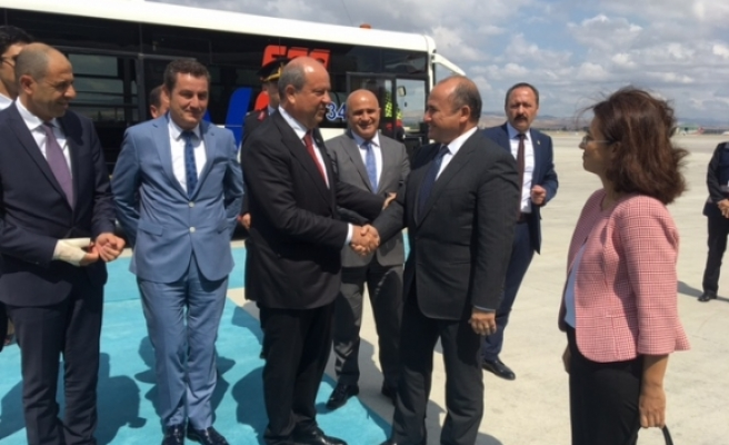 Başbakan Tatar ve Özersay Ankara'da