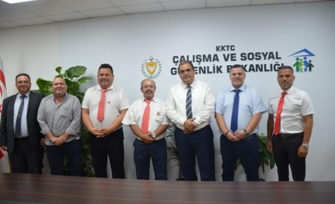 """Çalışma Bakanı Sucuoğlu: """"Yurt dışındaki Kıbrıslı Türkler için her türlü desteğe hazırız"""""""