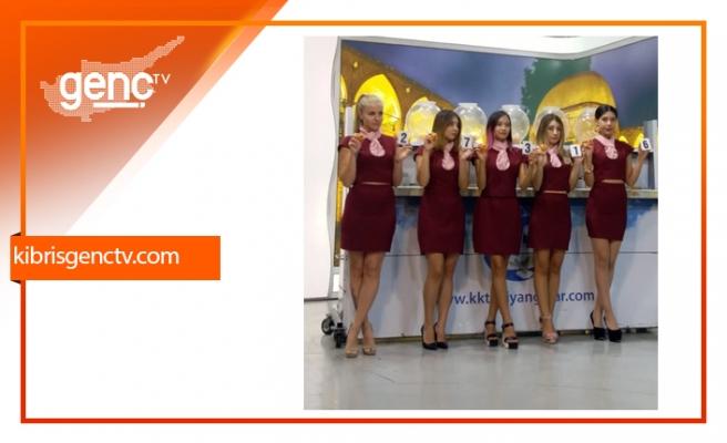 Devlet Piyangosu çekilişi Kıbrıs Genç TV stüdyolarında gerçekleşti