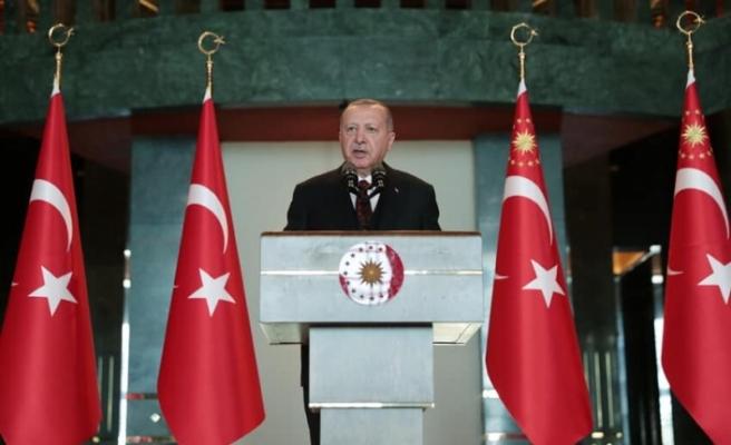 """Erdoğan: """"Ülkemizin ve Kıbrıslı Türklerin meşru haklarını koruyacağız"""""""