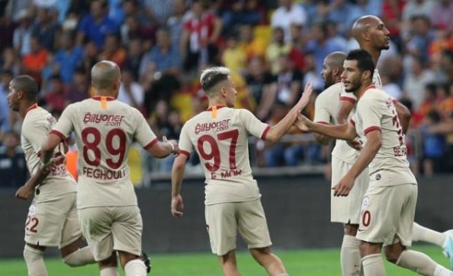 Galatasaray 3 puanla tanıştı