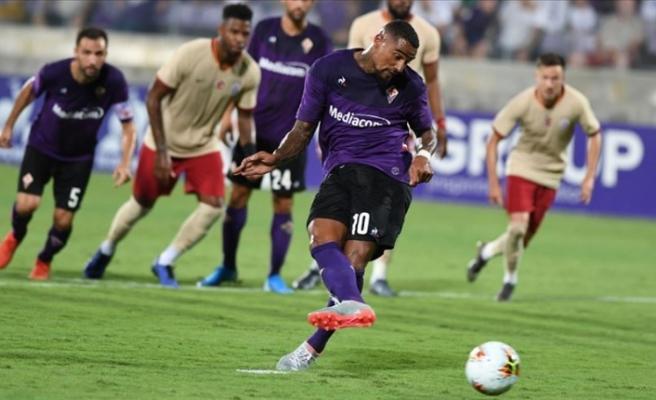 Galatasaray Fiorentina'ya farklı kaybetti