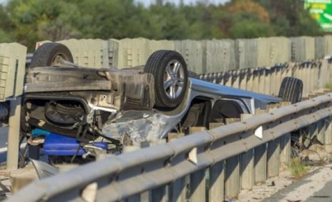 Güney Kıbırs'ta trafik kazalarında artış